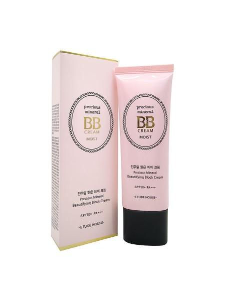 "BB-крем Precious Mineral BB Cream Moist, тон Vanilla, SPF50+/PA+++ ""Etude House"""