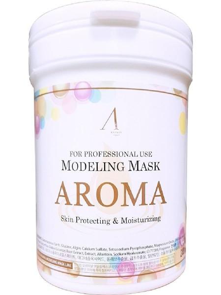 "Альгинатная маска антивозрастная Aroma Modeling Mask Container 700 мл ""Anskin"""