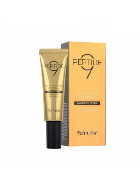"Крем для кожи вокруг глаз Peptide9 Super Vitalizing Eye Cream ""Farm Stay"""