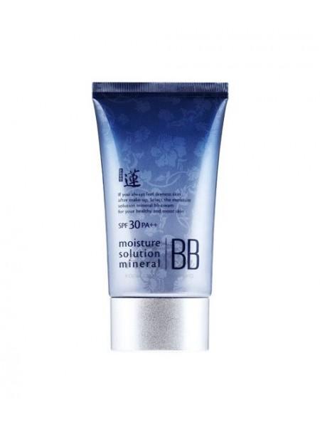 """ББ-крем минеральный Lotus Moisture Solution Mineral BB Cream """"Welcos"""""""
