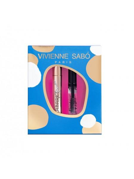 """Набор подарочный (тушь для ресниц + гель для бровей) """"Vivienne Sabo"""""""