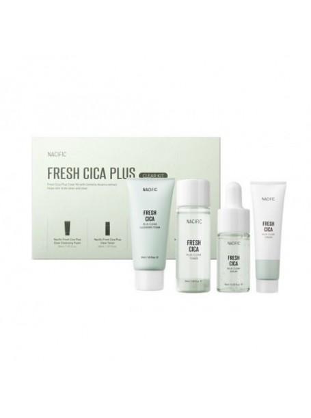 """Набор миниатюр с центеллой Fresh Cica Plus Clear Kit """"Nacific"""""""