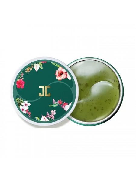 """Патчи гидрогелевые для глаз с зеленым чаем Green Tea Eye Gel """"Jayjun"""""""