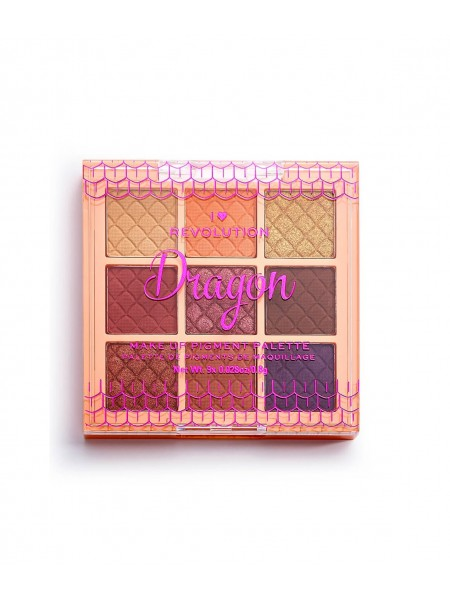 "Палетка пигментов для лица Dragon Make Up Pigment Palette ""Revolution"""