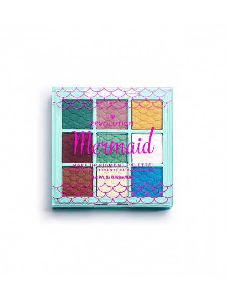 "Палетка пигментов для лица Mermaid Make Up Pigment Palette ""Revolution"""