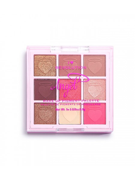 "Палетка пигментов для лица Angel Make Up Pigment Palette ""Revolution"""