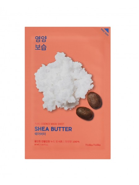 "Тканевая маска Pure Essence Mask Sheet Shea Butter ""Holika Holika"""