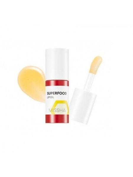 """Питательное масло для губ с экстрактом меда Superfood Honey Lip Oil """"Missha"""""""