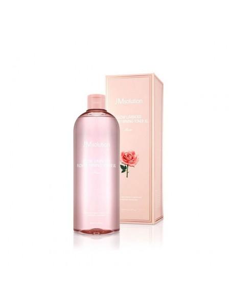 """Тонер для лица с экстрактом розы 600 мл Glow Luminous Flower Firming Toner """"JMsolution"""""""