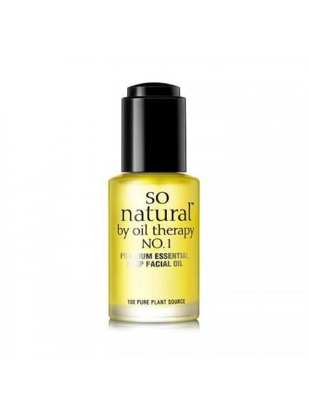 "Натуральное масло для лица Concentrate Premium Essential Deep Facial Oil, 30 мл ""So Natural"""
