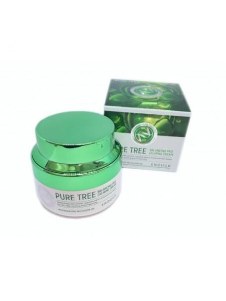 """Питательный крем Pure Tree Balancing Pro Calming Cream 50 мл """"Enough"""""""