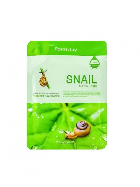 """Маска для лица Visible Difference Mask Sheet Snail """"Farm Stay"""""""
