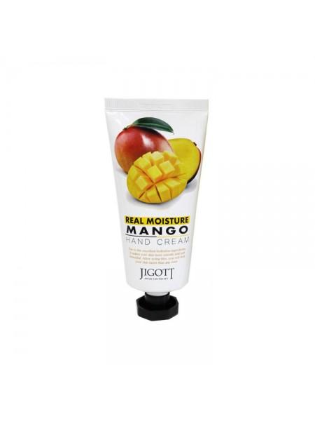"Увлажняющий крем для рук Real Moisture Mango Hand Cream  ""Jigott"""