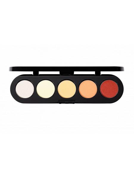Палетка теней  T05 (золотая палитра) от Make Up Atelier