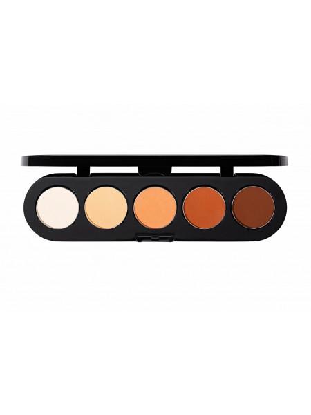 Палетка теней  T06 (апельсиновая палитра) от Make Up Atelier
