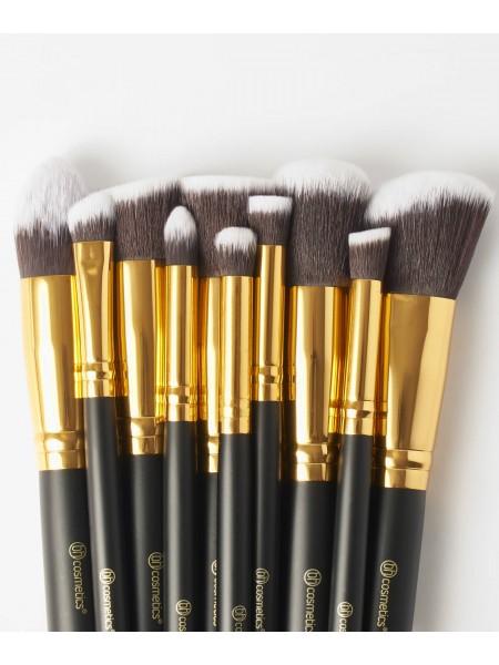 "Набор кистей Sculpt and Blend - Sculpt 10 Piece Brush Set  ""BH Cosmetics"""