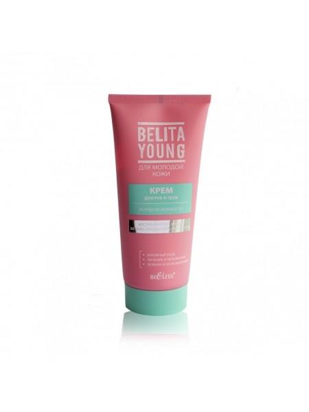 """Крем для рук и тела Формула нежности """"Belita Young"""" 150 мл """"Bielita"""""""