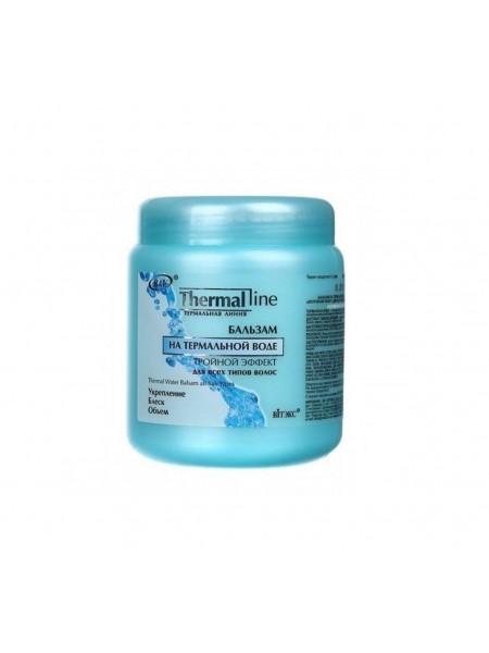 """Бальзам на термальной воде Тройной эффект для всех типов волос,450мл """"Витэск"""""""