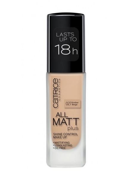 "Тональная основа  All Matt Plus Shine Control Make Up (30 мл)  ""Catrice"""