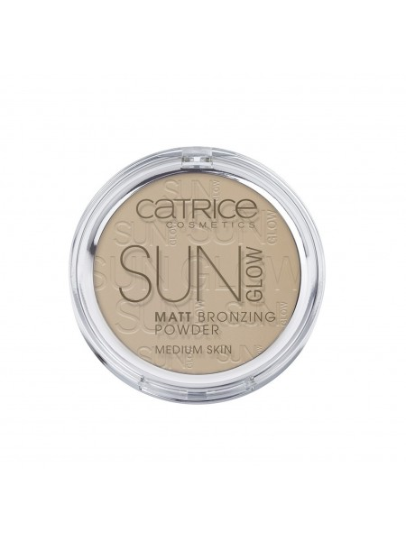 "Бронзирующая пудра Sun Glow Matt Bronzing Powder 9.5 г 030 - Medium Bronze ""Catrice"""