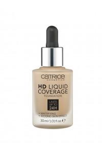 "Тональная основа  HD Liquid Coverage Foundation 30 мл  ""Catrice"""