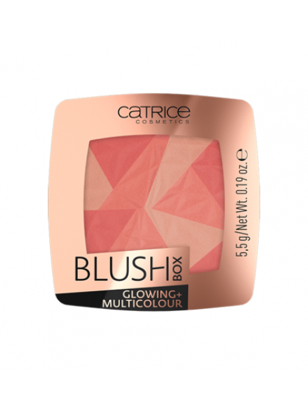 "Румяна Blush Box Glowing + Multicolour ""Catrice"""