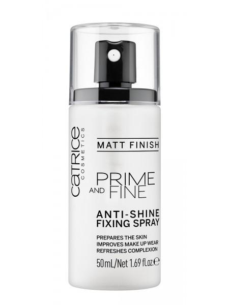 "Фиксирующий спрей для макияжа Prime And Fine Anti-Shine Fixing Spray ""Catrice"""