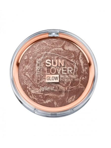 "Пудра компактная бронзирующая 010 Sun Lover Glow Bronzing Powder ""Catrice"""