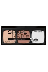 "Палетка для контурирования Shape In A Box Contouring Palette 010 LIGHT ""Catrice"""