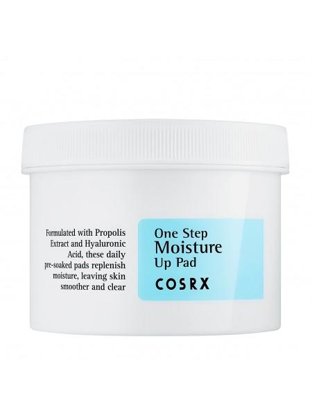 """Увлажняющие пэды для чувствительной кожи  One Step Moisture Up Pad  """"COSRX """""""