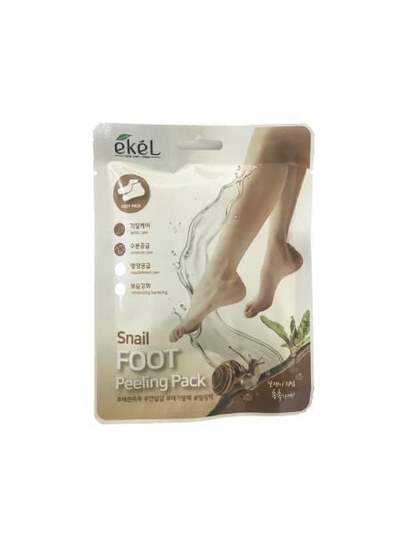 "Пилинг носочки Snail Foot Peeling Pack ""Ekel"""