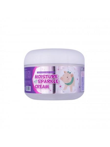 """Крем для лица Moisture Sparkle Cream 100 мл """"Elizavecca"""""""
