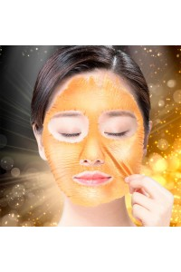 "Маска-пленка Hell-Pore Longolongo Gronique Gold Mask Pack золотая, 100 мл. ""Elizavecca"""