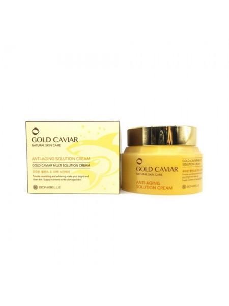 """Антивозрастной крем для лица с экстрактом икры Bonibelle Gold Caviar Anti-Aging Solution Cream """"Enough"""""""