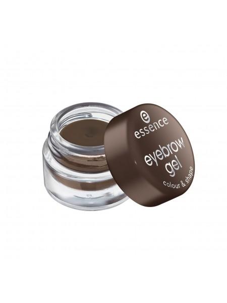 "Гель для бровей Eyebrow gel colour & shape, 44 г ""Essence"""
