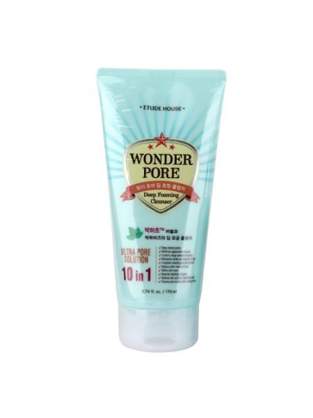 """Пенка для интенсивного очищения пор Wonder Pore Deep Foaming Cleanser 170 мл """"Etude House"""""""