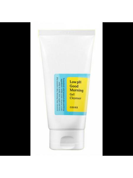 """Гель-пенка для проблемной кожи с ВНА-кислотами 150ml  Low pH goodmorning Gel Cleanser """"COSRX """""""