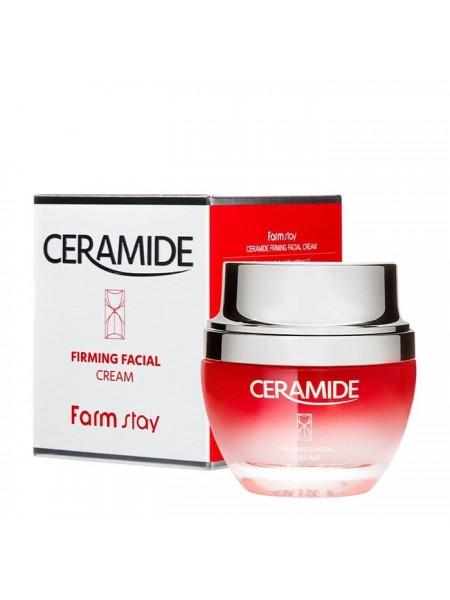 "Крем для лица Ceramide Firming Facial Cream  ""Farm Stay"""