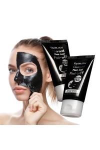 """Маска-пленка для носа Charcoal Black Head Peel-Off Nose Pack 60 г """"Farm Stay"""""""