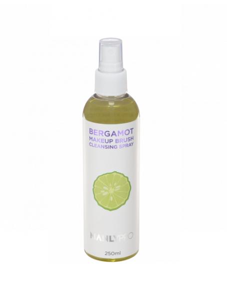Экспресс-очиститель кистей с маслом бергамота, спрей (250 мл)