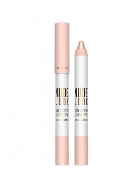 "Корректор для лица Nude Look Highlighting Glow Pen (4 г) ""Golden Rose"""