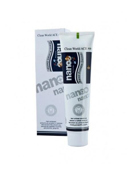 """Зубная паста для чувствительных зубов с ионами серебра и протеином Clean World ACE, 180 г """"Hanil"""""""