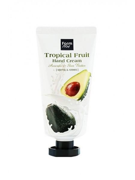 "Крем для рук Tropical Fruit Avocado & Shea Butter 50 мл ""Farm Stay"""