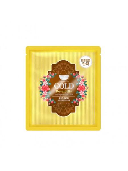 """Гидрогелевая маска для лица Gold & Royal Jelly Mask Pack """"Koelf"""""""