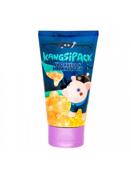 """Золотая маска для подтяжки овала лица 120мл  Milky Piggy Kangsi pack """"Elizavecca"""""""