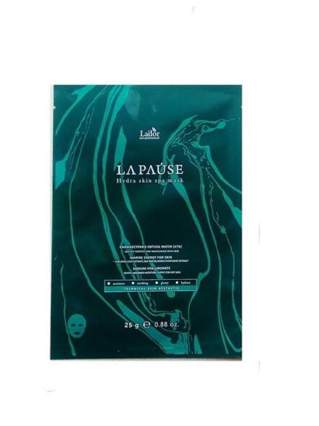 "Увлажняющая маска для лица с морским коллагеном LA-PAUSE HYDRA SKIN SPA MASK, 25 гр ""Lador"""