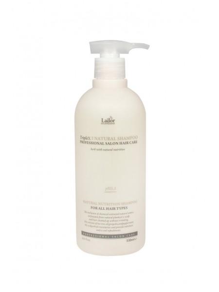 """Органический шампунь с натуральными ингредиентами Triplex 3 Natural Shampoo 530 мл """"Lador"""""""