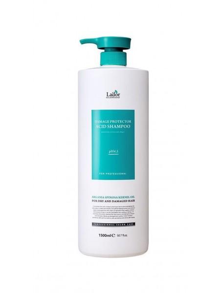 """Шампунь для волос с аргановым маслом Damage Protector Acid Shampoo 1500 мл """"Lador"""""""