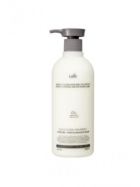 """Увлажняющий шампунь для волос Moisture Balancing Shampoo, 530 мл. """"Lador"""""""