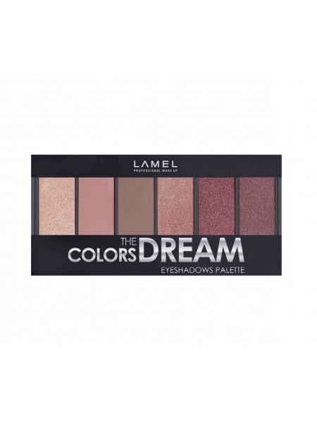 "Набор теней для век Colors Dream т.605 10,2 г ""Lamel"""